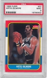 1986/87 Fleer Basketball #37 Artis Gilmore PSA 9 (MINT) *0502