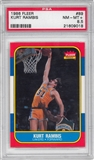 1986/87 Fleer Basketball #89 Kurt Rambis PSA 8.5 (NM-MT+) *9018