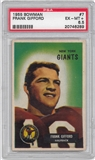 1955 Bowman Football #7 Frank Gifford PSA 6.5 (EX-MT+) *6289