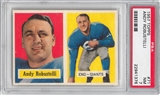 1957 Topps Football #71 Andy Robustelli PSA 7 (NM) *1376