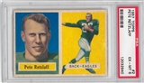 1957 Topps Football #2 Pete Retzlaff PSA 6 (EX-MT) *2940