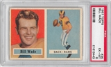 1957 Topps Football #34 Bill Wade PSA 6 (EX-MT) *3443