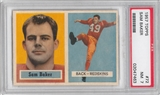 1957 Topps Football #72 Sam Baker PSA 7 (NM) *7463