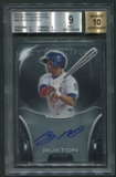 2013 Bowman Sterling #BB Byron Buxton Prospect Rookie Auto BGS 9
