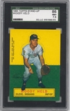 1964 Topps Stand-Up Baseball Woody Held SGC 86 (NM+ 7.5) *9014