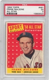 1958 Topps Baseball #481 Frank Malzone All Star PSA 5 (EX) *3523