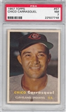 1957 Topps Baseball #67 Chico Carrasquel PSA 7 (NM) *7748