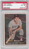 1957 Topps Baseball #202 Dick Gernert PSA 6 (EX-MT) *7745