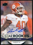 2012 Upper Deck Rookie Autographs #154 Andre Branch Autograph
