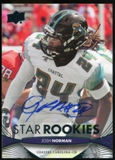 2012 Upper Deck Rookie Autographs #236 Josh Norman Autograph