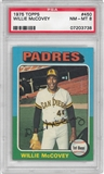 1975 Topps Baseball #450 Willie McCovey PSA 8 (NM-MT) *3738