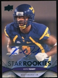 2012 Upper Deck Rookie Autographs #165 Keith Tandy Autograph
