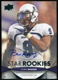 2012 Upper Deck Rookie Autographs #101 Bobby Wagner Autograph