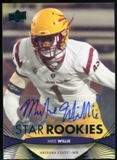 2012 Upper Deck Rookie Autographs #121 Mike Willie Autograph