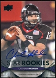 2012 Upper Deck Rookie Autographs #163 Chandler Harnish Autograph
