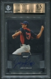 2012 Leaf Metal Draft #JG1 Joey Gallo Rookie Auto BGS 9.5