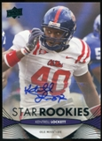 2012 Upper Deck Rookie Autographs #102 Kentrell Lockett Autograph