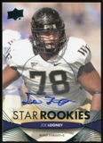 2012 Upper Deck Rookie Autographs #162 Joe Looney Autograph