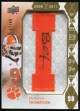 2012 Upper Deck Rookie Lettermen Autographs #RLBT Brandon Thompson*/serial #'d to 45;/letters spell TIGERS Aut