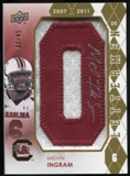 2012 Upper Deck Rookie Lettermen Autographs #RLMI Melvin Ingram*/serial #'d to 45,/letters spell GAMECOCKS Aut
