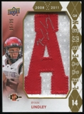 2012 Upper Deck Rookie Lettermen Autographs #RLRL Ryan Lindley*/serial #'d to 35,/letters spell AZTECS Autogra