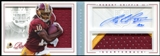 2012 Panini Playbook #201 Robert Griffin III RC Jersey Patch Autograph 30/149