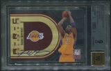 2009/10 Donruss Elite #7 Kobe Bryant ARCeologists Auto #46/47 BGS 9