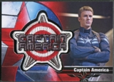 2014 Captain America The Winter Soldier #B11 Captain America Badges