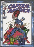 2014 Captain America The Winter Soldier Comic #CALS Joe Sinnott & Stan Lee Auto