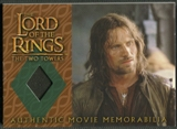 2003 Lord of the Rings The Two Towers Update #NNO Aragorn's Travel Coat
