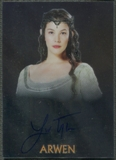 2004 Lord of the Rings Trilogy Chrome #NNO Liv Tyler as Arwen Auto
