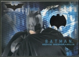 2005 Batman Begins Movie Memorabilia #1 Batman's Cape