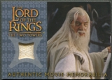 2003 Lord of the Rings The Two Towers Update #NNO Gandalf's Silk Shirt Memorabilia
