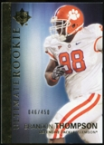 2012 Upper Deck Ultimate Collection #7 Brandon Thompson /450