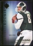 2012 Upper Deck Ultimate Collection #36 Kirk Cousins /450