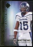 2012 Upper Deck Ultimate Collection #51 Rishard Matthews /450