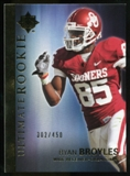 2012 Upper Deck Ultimate Collection #54 Ryan Broyles /450