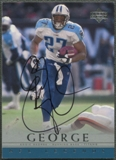 2000 Upper Deck Legends #EG Eddie George Auto
