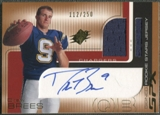 2001 SPx #101 Drew Brees Rookie Jersey Auto #112/250