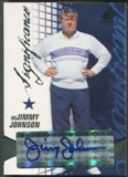 2004 SP Game Used Edition #JJ Jimmy Johnson SIGnificance Auto #007/100