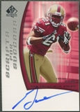 2005 SP Authentic #SSFG Frank Gore Scripts for Success Rookie Auto