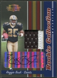 2006 Donruss Threads #10 Reggie Bush Rookie Collection Material Patch Auto #2/5