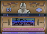 2006 Playoff National Treasures #46 Don Maynard Signature Silver Auto #42/99