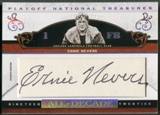 2007 Playoff National Treasures #EN Ernie Nevers All Decade Signature Cuts Auto #01/21