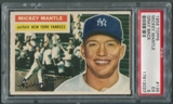1956 Topps Baseball #135 Mickey Mantle Gray Back PSA 5 (EX) *3037