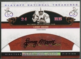 2007 Playoff National Treasures #LM Lenny Moore All Decade Signature Auto #97/99