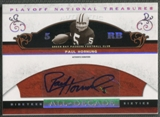 2007 Playoff National Treasures #PH Paul Hornung All Decade Signature Auto #56/99