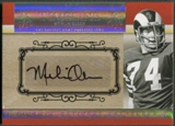 2007 Playoff National Treasures #MO Merlin Olsen Timeline Signature Auto #28/30