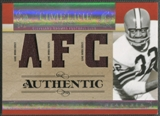 2007 Playoff National Treasures #JB Jim Brown Timeline Material AFC Jersey #19/25