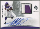 2007 SP Authentic #289 Adrian Peterson Rookie Patch Auto #164/399